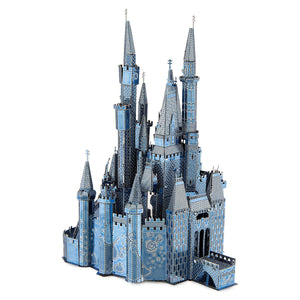 Disney Parks Cinderella Castle Two Toned Metal Earth Model Kit 3D New