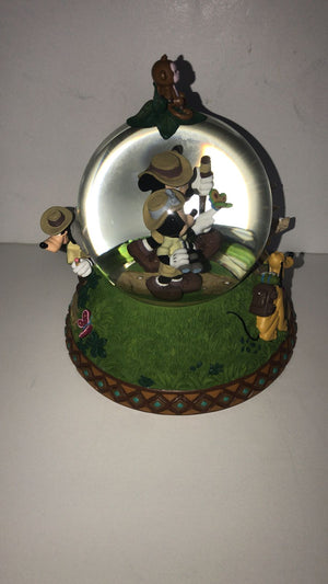 Disney Parks Shanghai Mickey & Friends Adventure Isle Snowglobe New with Box