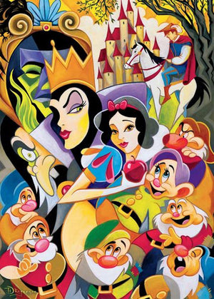 Disney Fine Art Ceaco Enchantment of Snow White 1000 Pcs Puzzle New with Box