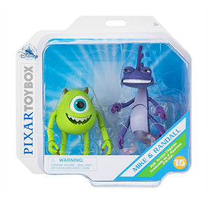 Disney Mike Wazowski and Randall Action Figure Toybox New with Box