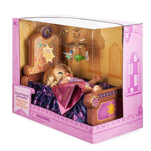 Disney Animators' Collection Rapunzel Baby Doll and Crib Gift Set New with Box