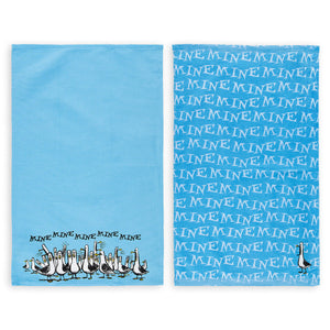 Disney Parks Finding Nemo Seagulls Mine Mine Kitchen Towel Set New With Tags