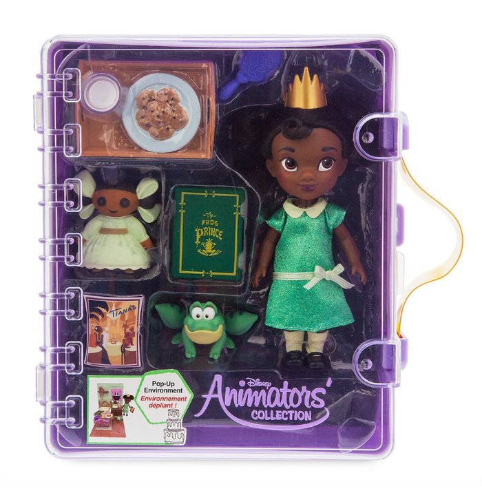 Disney Animators' Collection Tiana Mini Doll Play Set New with Box