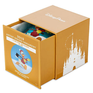 Disney Parks Donald Artist Series Limited Ball Christmas Ornament New with Box