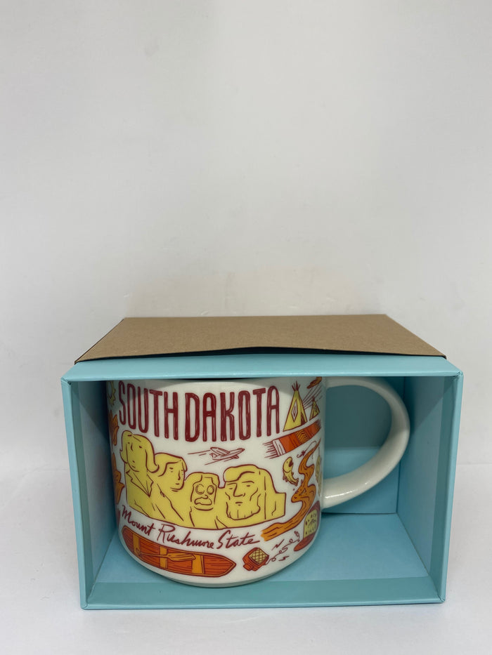 Starbucks Been There Series Collection South Dakota Coffee Mug New With Box