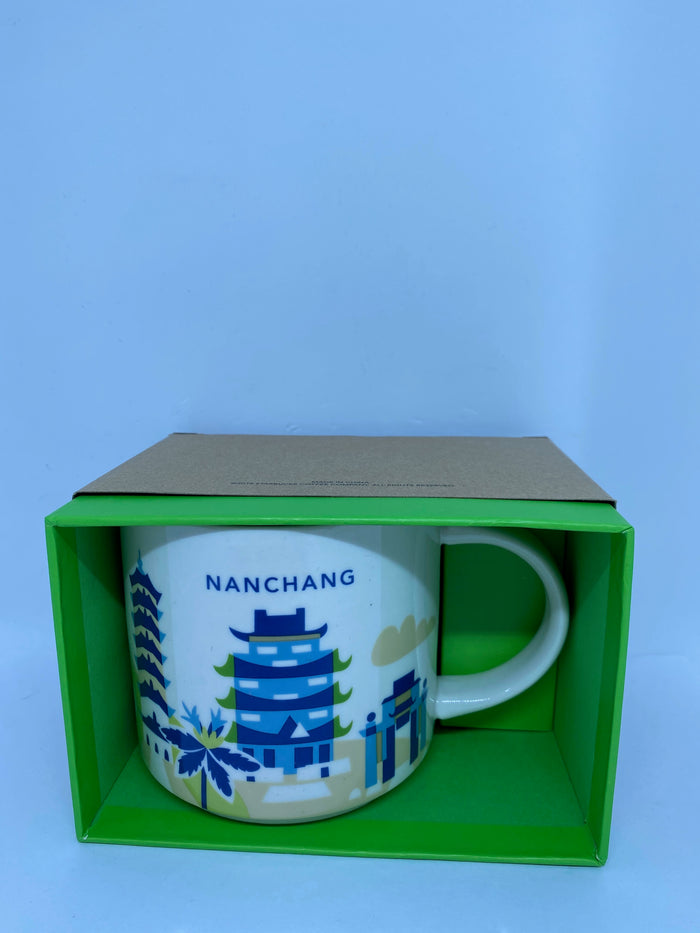 Starbucks You Are Here Collection Nanchang China Ceramic Coffee Mug New with Box