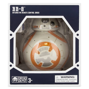 Disney BB-8 Interactive Remote Control Droid Depot Star Wars Galaxy's Edge New