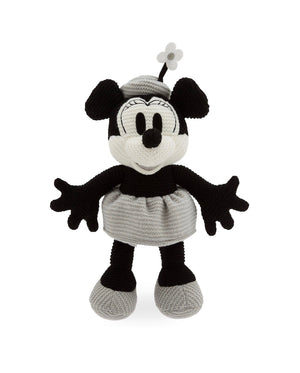 Disney Parks Steamboat Minnie Mouse Knit 11 inc Plush New with Tag