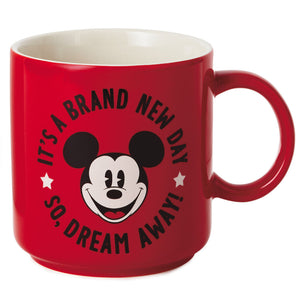 Hallmark Disney Mickey It's a Brand New Day so Dream Away Coffee Mug New