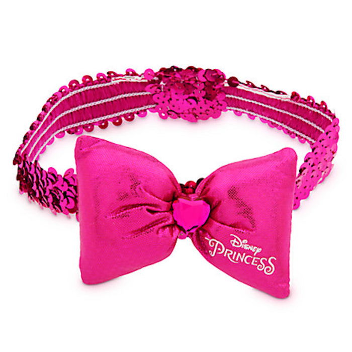 disney parks tails pet elastic fashion minnie princess bow collar new size xs/s new with card