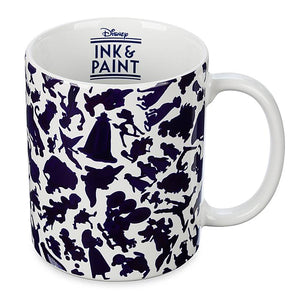 Disney Parks Ink & Paint Color Change Coffee Mug New