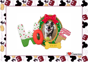 Hallmark 2020 Woofy Photo Frame Christmas Ornament New with Box