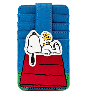 Hallmark Peanuts Snoopy on Doghouse Card Holder New with Tag