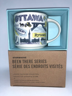 Starbucks Been There Series Collection Ottawa Canada Ontario Coffee Mug New
