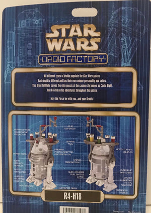 Disney Parks Star Wars R4-H18 Droid Factory Holiday New with Box