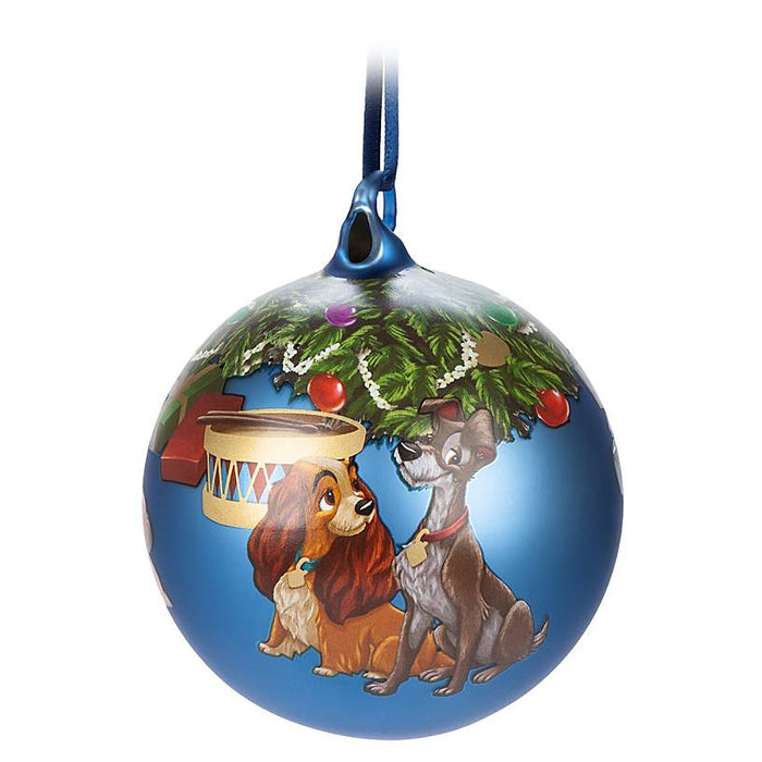 Disney Parks Lady and the Tramp Artist Series Limited Ball Ornament New with Box