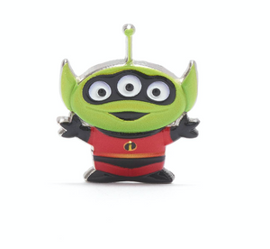 Disney Toy Story Alien Pixar Remix Pin Mr. Incredible Limited Release New
