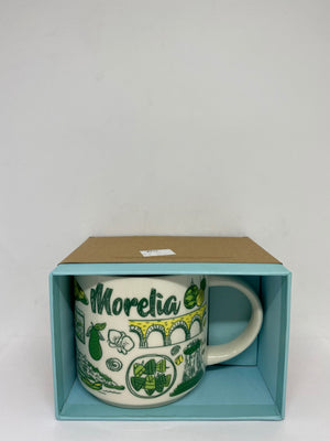 Starbucks Been There Series Mexico Morelia Ceramic Coffee Mug New with Box