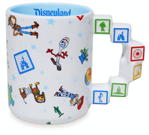 Disney Parks Disneyland Toy Story Sculpted Coffee Mug New