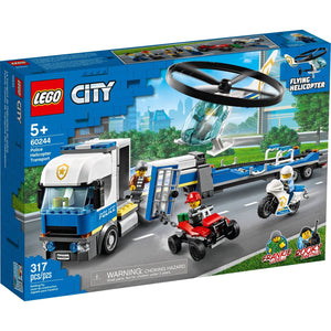 Lego 60244 City Police Helicopter Chase Building Set New with Sealed Box