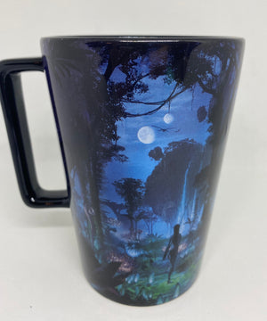 Disney Parks Pandora World of Avatar Night TIme Tall Latte Mug New