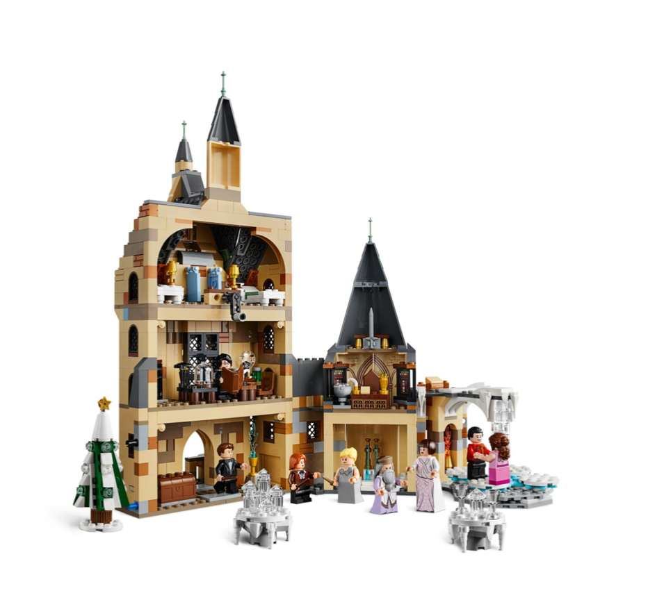Lego Harry Potter The Magic Returns Hogwarts Clock Tower Wizarding