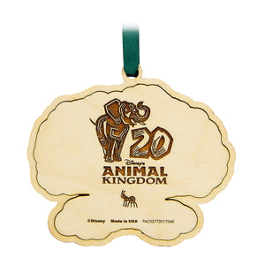 Disney Parks Animal Kingdom 20th Anniversary Tree of Life Ornament New with Tag