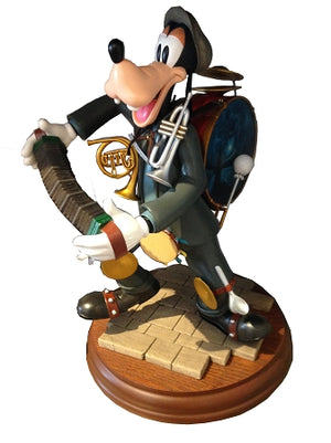Disney Parks Goofy as Bert Figurine Statue New with Box