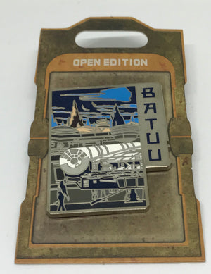 Disney Parks Star Wars Galaxy Edge Batuu Nite Pin New with Card