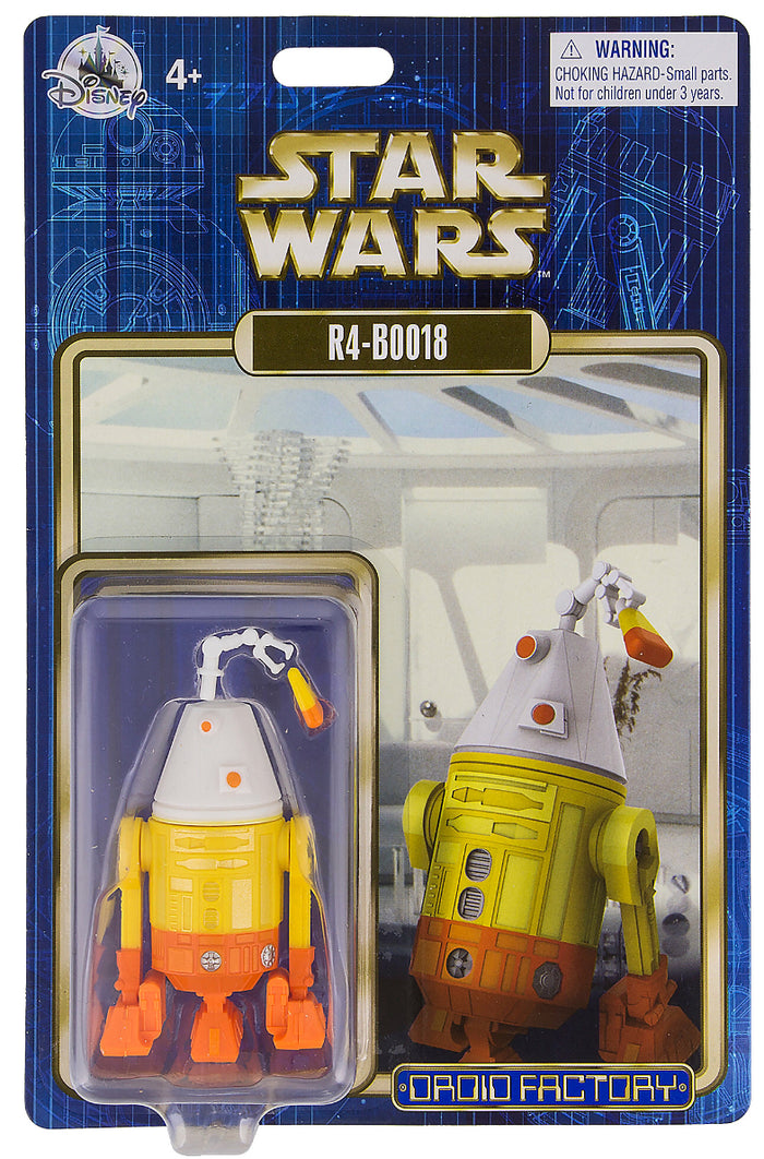Disney Parks Star Wars R4-BOO18 Droid Factory Halloween New with Box