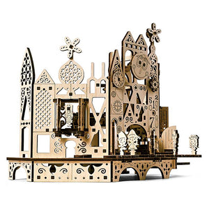 Disney Parks it's a small world Wooden Puzzle by UGears New with Box