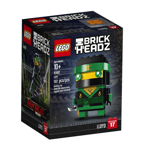 Lego 41487 BrickHeadz Ninjago Lloyd The LEGO Batman Movie 102 Pieces New