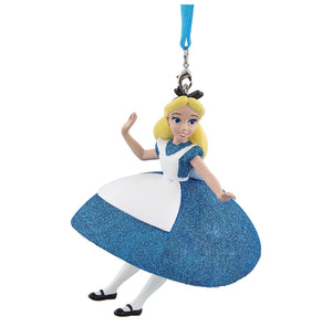 Disney Parks Alice 3D Christmas Holiday Ornament New with Tags