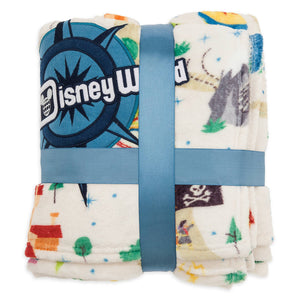 Disney Parks Mickey Mouse and Friends Throw Walt Disney World New with Tag