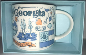Starbucks Been There Series Collection Georgia Coffee Mug New With Box