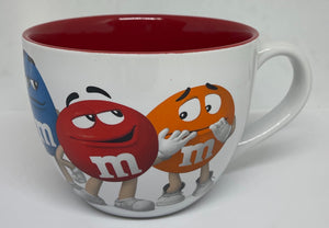 M&M's World All Characters Cappuccino Mug New
