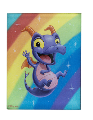 Disney Parks Figment Royal Purple Pigment Magnet by Tercek Magnet New
