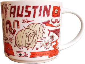Starbucks Been There Series Collection Austin Texas Coffee Mug New With Box