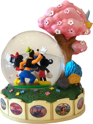 Disney Parks Shanghai Mickey & Friends Dumbo Pegasus Snowglobe New with Box