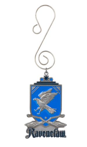 Universal Studios Harry Potter Ravenclaw Quidditch Shield Ornament New with Tag