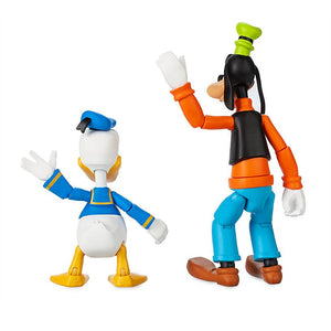 Disney Goofy and Donald Duck Action Figure Toybox New with Box
