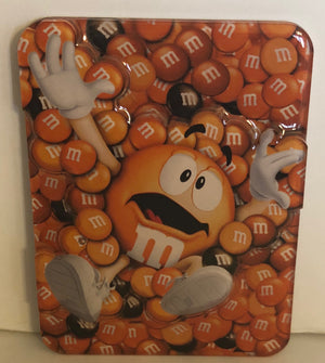M&M's World Orange Characters Magnet New