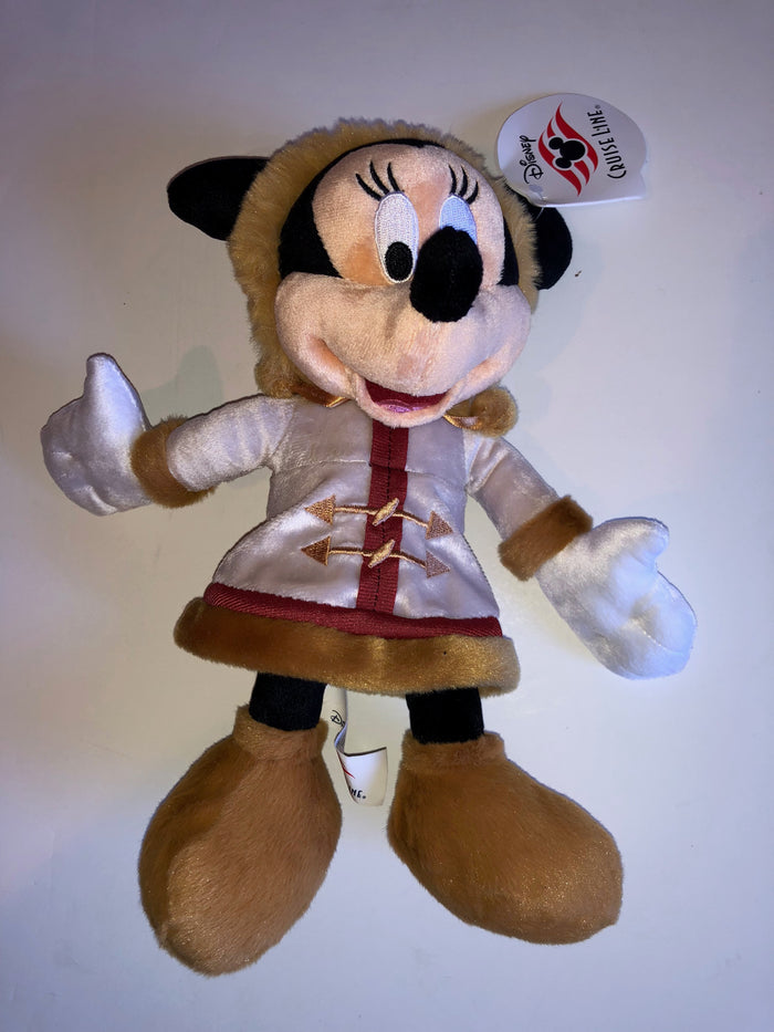 Disney Cruise Line Minnie Mouse 9 inc Plush New with Tags