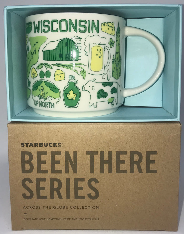 Starbucks Been There Series Collection Wisconsin Coffee Mug New With Box