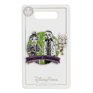 Disney Parks The Haunted Mansion Hosts Pin New With Card