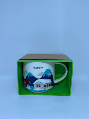 Starbucks You Are Here Collection Harbin China Ceramic Coffee Mug New With Box