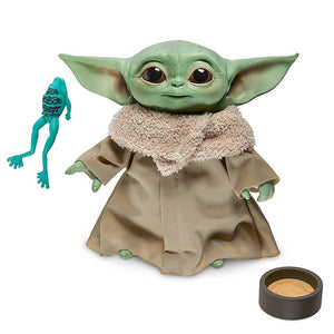 Disney The Child Talking Plush Toy Hasbro Star Wars The Mandalorian Yoda New