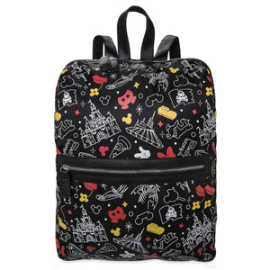 Disney Parks Icons Mickey and Minnie Backpack New with Tags