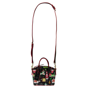 Disney Parks Holiday Christmas Satchel Passholder Dooney & Bourke New with Tags