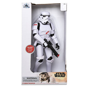 "Disney Star Wars Stormtrooper Talking Action Figure 13 1/2"" inc New with Box"